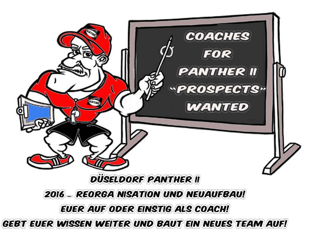 Coaching Staff für Panther II gesucht