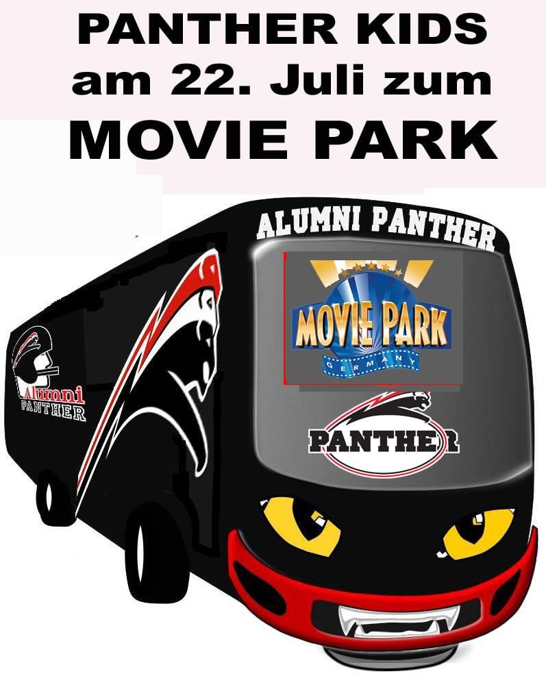 Panther Kids zum Movie Park Kopie