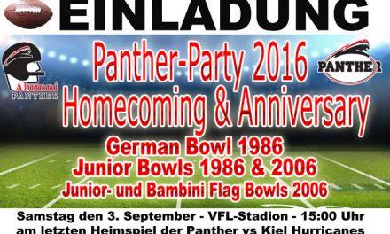 Panther-Veteranen Tage am Wochenende!