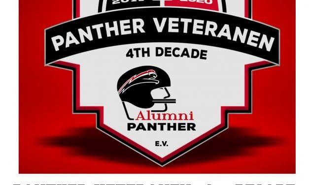 Dekaden-Logo für die Panther-Veteranen der 4. Dekade von 2011 bis 2020!