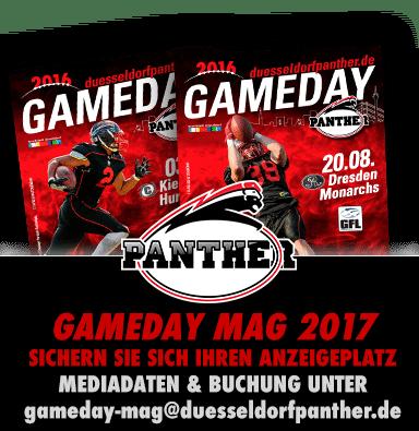 Ihre Anzeige im Programmheft der Düsseldorf Panther…