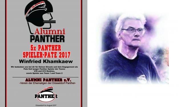 Panther Veteran Winfried Khamkaew – 2017 5-maliger Spieler-Pate.