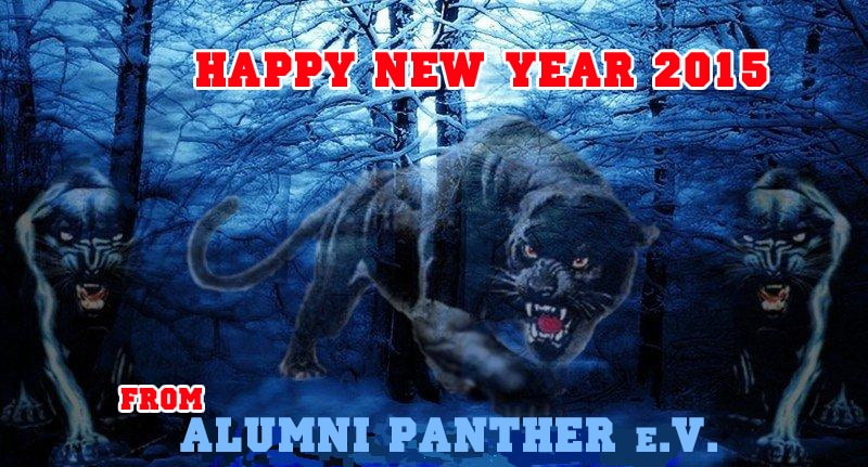 Happy N.Y. 2015  Panther