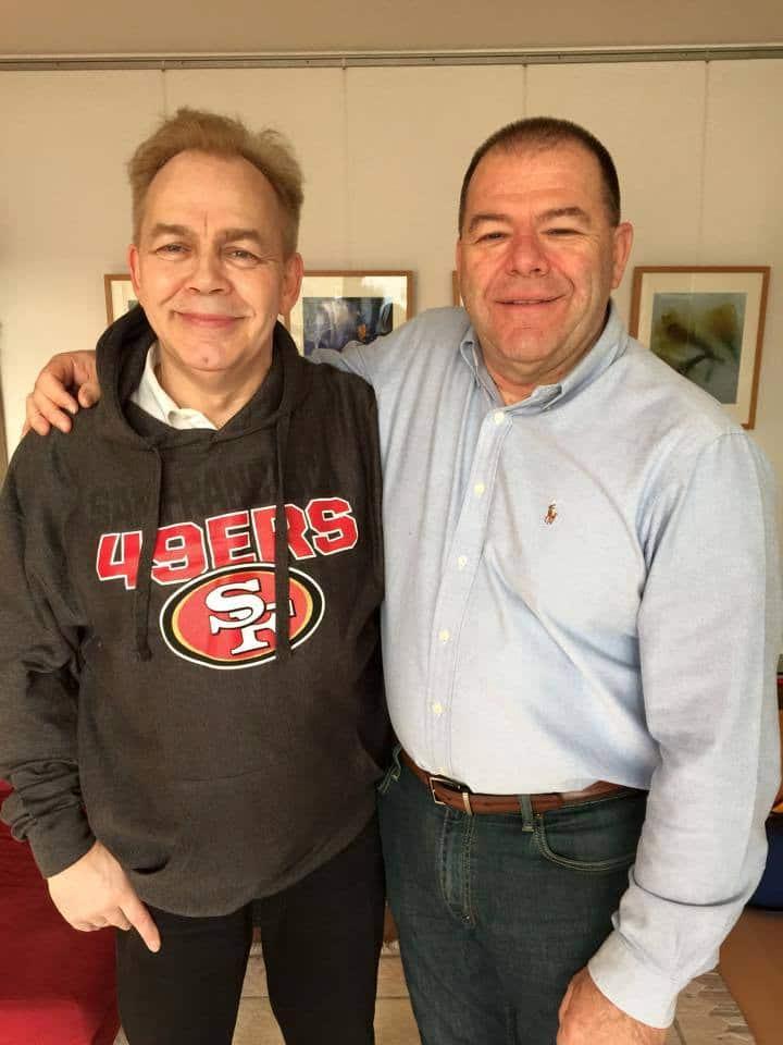 Kurt Tillmann und Mel Crandell
