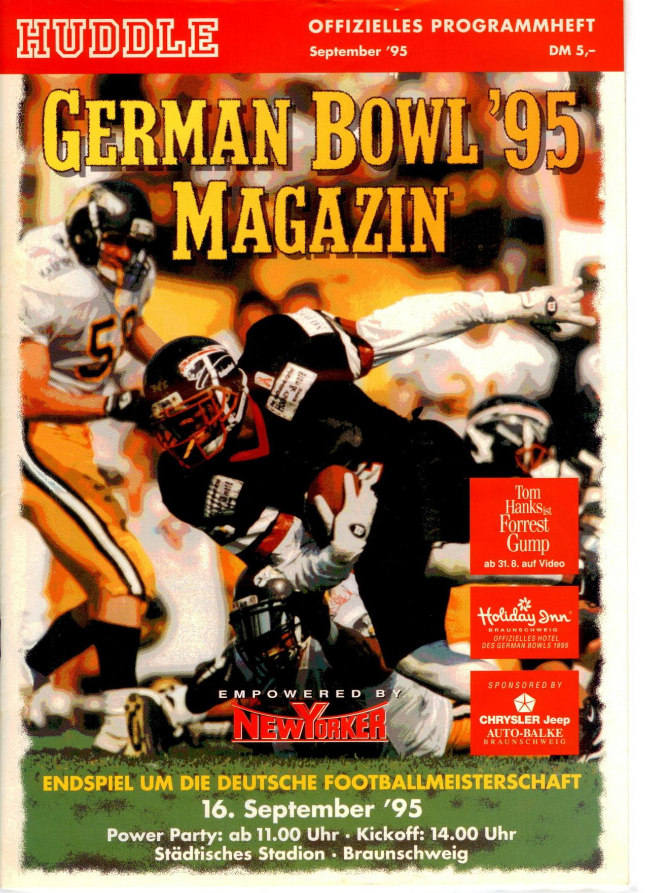 PPH GB 16.09.1995 Pa vs. HH Blie Devils