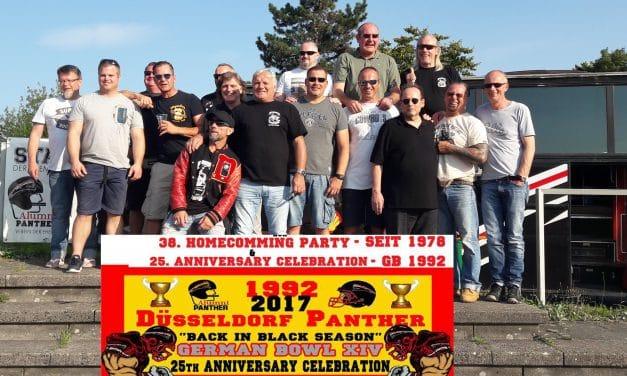 27. August 2017 – Die Panther Veteranen hatten viel zu feiern.