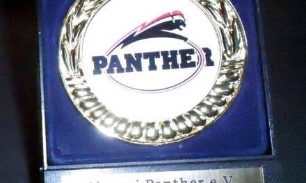 Ehrung für den Verein Alumni Panther e.V.
