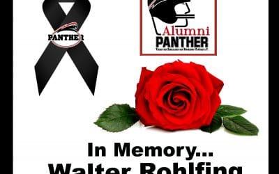 Nachruf zum Tod von Walter Rohlfing